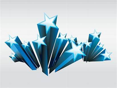 Stars Star Vector 3d Shooting Clipart Graphics