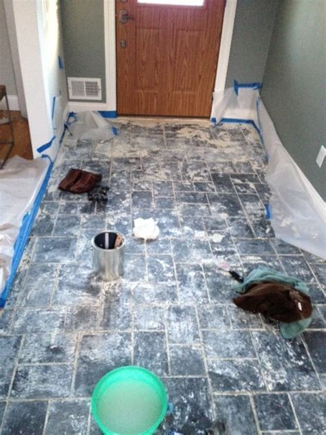 Removing paint from slate tile, help!