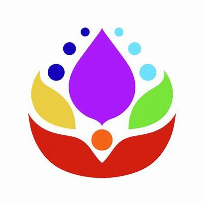 Chakra Symbol Desi Icon Flower Ruangvaree Benjavisa