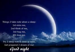 Good Night Messages For Facebook