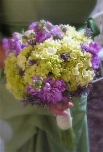 Photo Gallery - Purple & Green Hydrangea Bouquet Photo