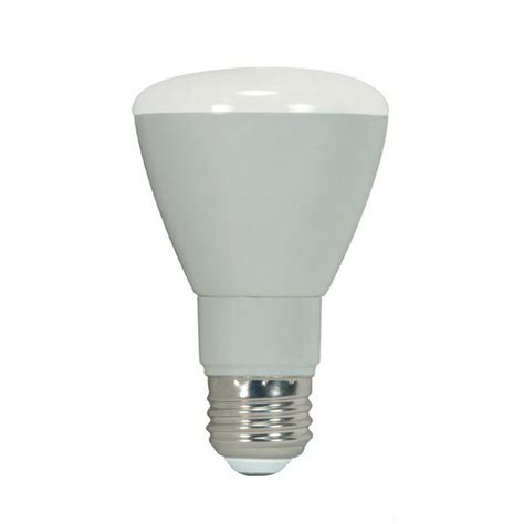satco ditto 7w r20 led 3000k flood dimmable bulb 50w r20