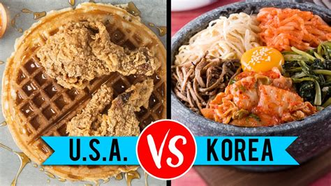 usa cuisine usa vs south food