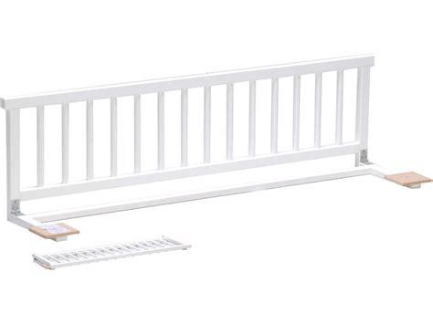 conforama canapé lit clic clac barrière de lit moby coloris blanc vente de accessoires