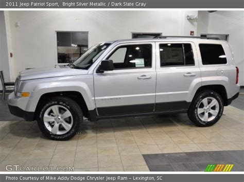 silver jeep patriot interior bright silver metallic 2011 jeep patriot sport dark