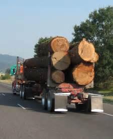 Logging Trucks Oregon