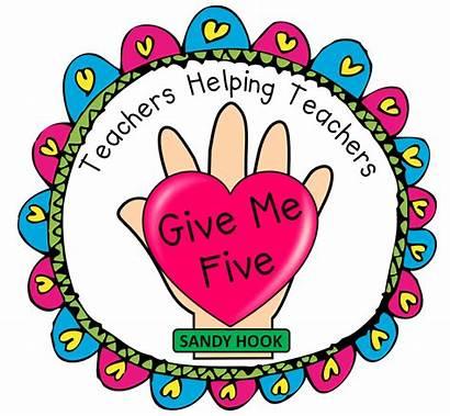 Give Five Hook Help Teachers Sandy Way