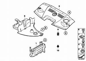 Original Parts For E86 Z4 3 0si N52 Coupe    Vehicle Trim   Mounting Parts Engine Compartment