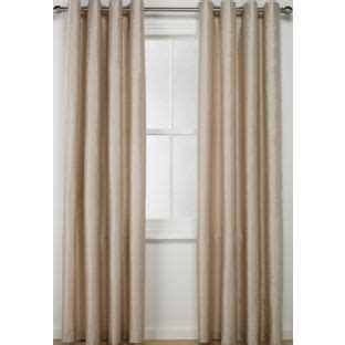 buy living faux silk eyelet curtain 229x168cm at