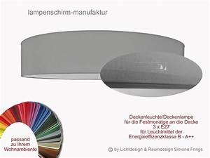 Deckenleuchte 100 Cm Durchmesser : deckenleuchte 90 cm 3 flg lampenschirm diffuser lampenschirm und leuchten manufaktur onlineshop ~ Markanthonyermac.com Haus und Dekorationen
