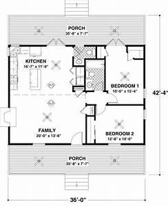 Cottage 2 Beds 1 5 Baths 954 Sq  Ft Plan  56