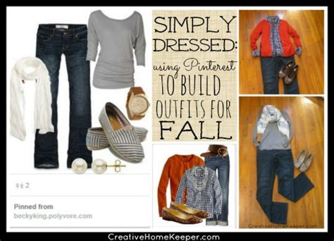 using to build for fall simply dressed