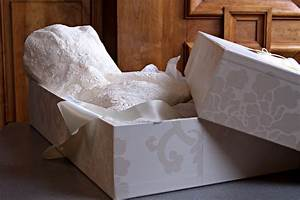 wedding dress preservation wedding dress cleaners With wedding dress storage box