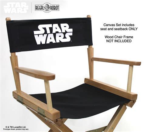 wars directors chair cover set regal robot