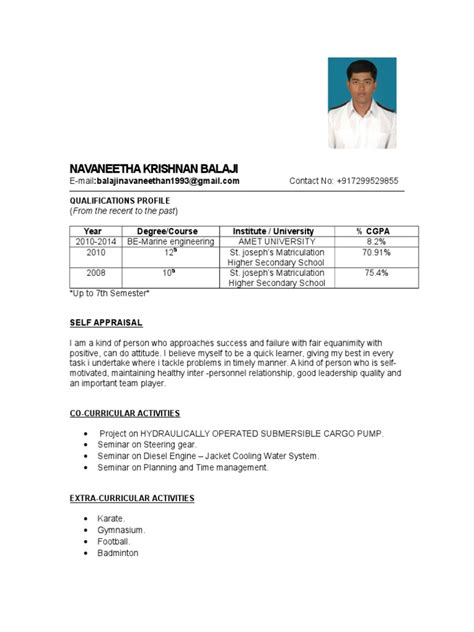 resume sle format for seaman danaya us