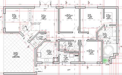 planta baixa do nosso projeto do curso projeto arquitetônico com autocad construction