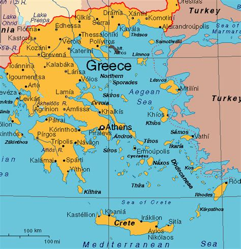 maps george goes to greece