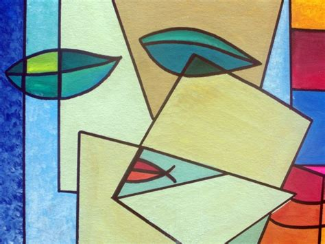 Abstract Shapes Painting by Abstract Free Stock Photo Domain Pictures