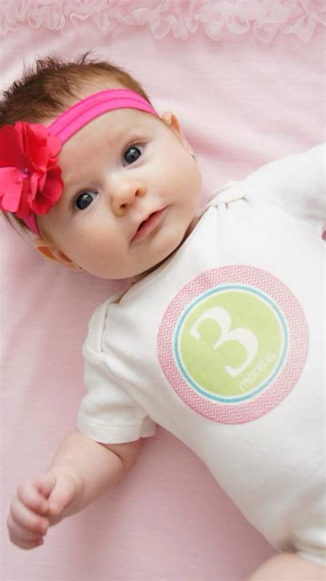 month  baby girl picture baby pics baby girl