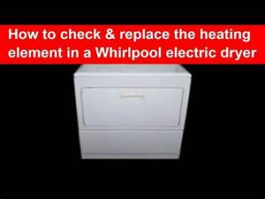 Heating Element Whirlpool 27 Inch Electric Dryer