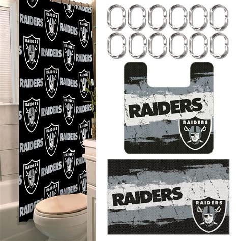 nfl oakland raiders bathroom set