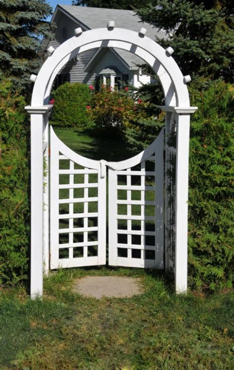 garden arbor with gate garden arbor with gate 31 backyard arbor designs and ideas