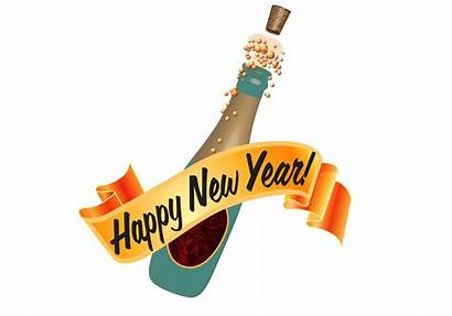 Happy Champagne Clipart Vector Bottle Clip Eve