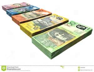 free house plans australian dollar notes collection royalty free stock