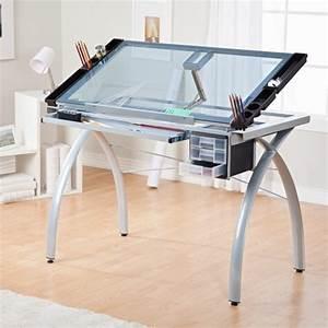 Plateau Pour Bureau : le plateau de bureau en verre pour votre office la maison ~ Teatrodelosmanantiales.com Idées de Décoration