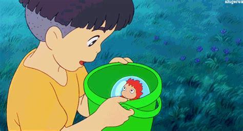 anime in net gake no ue no ponyo gifs find on giphy