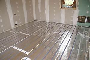Prix Plancher Chauffant Electrique : chauffage au sol electrique cheap regulation plancher ~ Premium-room.com Idées de Décoration