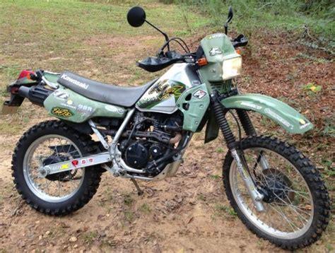 2001 Kawasaki Klr 250 Motorcycle Enduro Dual Sport Street