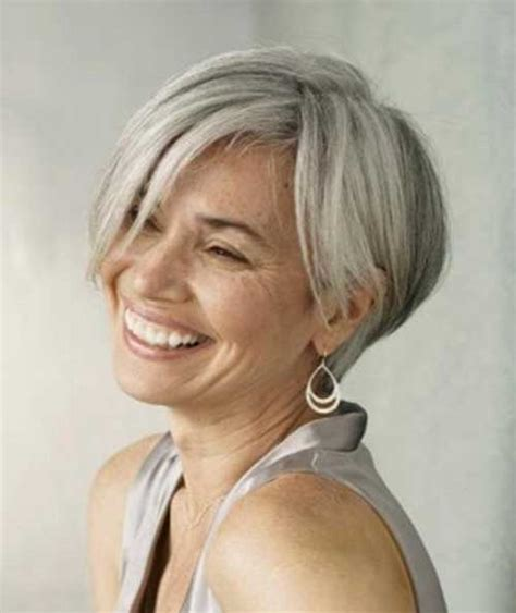 best gray hair styles 15 hairstyles for grey hair hairstyles 2017