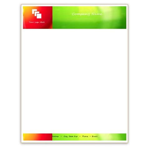 Company Stationery Template Pages by Six Free Letterhead Templates For Microsoft Word Business