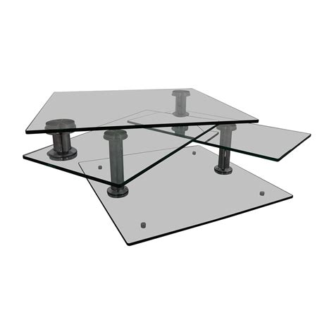 Browse our collection of modern furniture, bedding, art & more or visit us in store! 85% OFF - Z Gallerie Z Gallerie Movable Glass Coffee Table / Tables
