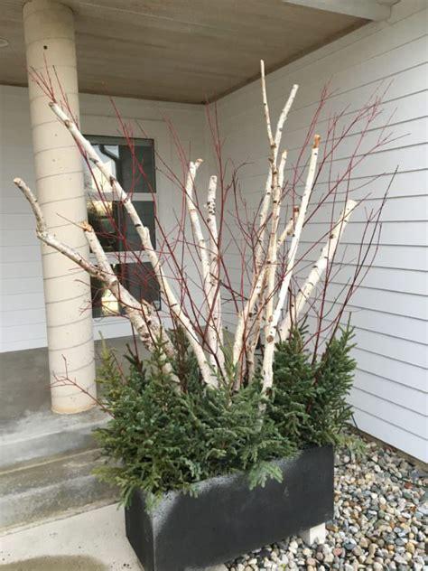 winter garden planters  garden glove