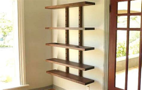Wall Mounted Bookcase With Glass Doors — Doherty House