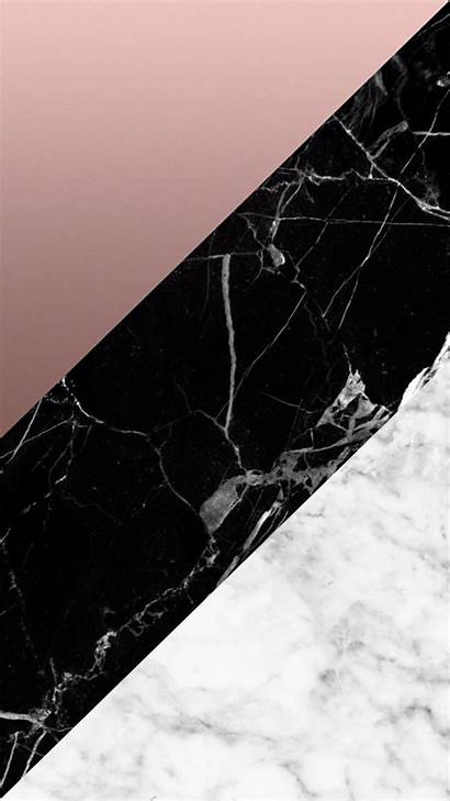 Iphone Marble Rose Gold Aesthetic Geometric Wallpapers
