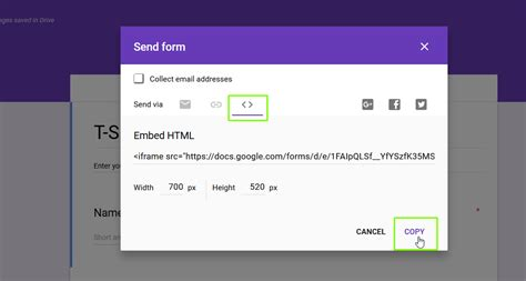 embed  google form  wordpress template monster