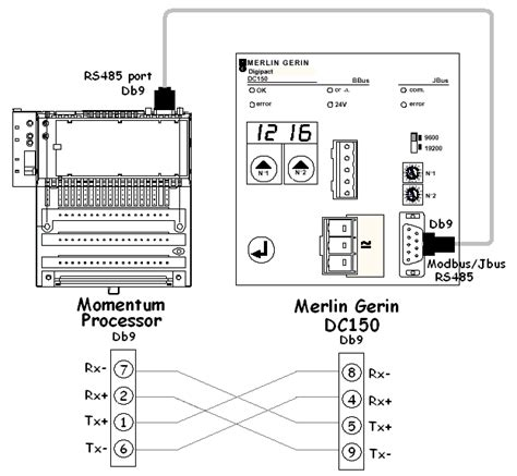 modbus rs485 wiring diagram somurich