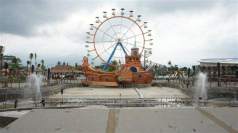 saloka theme park semarang resmi dibuka besok  harga