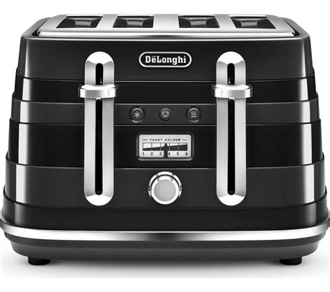 Delonghi 4 Slice Toaster by Buy Delonghi Avvolta Cta4003bk 4 Slice Toaster Black