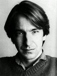 Young Alan Rickman | ~Picture Perfect~ | Pinterest