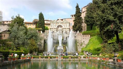 villa d este rich history in tivoli villa d este wanted in rome