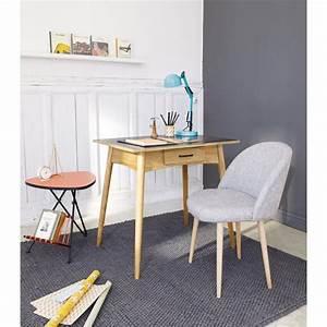 Chaise Vintage Maison Du Monde : 80 19 chaise vintage gris chin mauricette chez maisons du monde peut aussi faire fauteuil de ~ Melissatoandfro.com Idées de Décoration