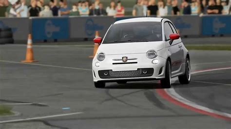 fiat 500 abarth top gear track