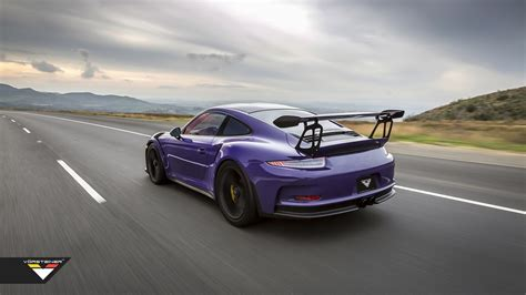 Vorsteiner Goes To Town On Porsche 911 Gt3