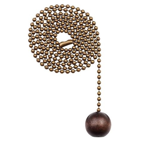 Westinghouse Walnut Wooden Ball Pull Chain7729000 The