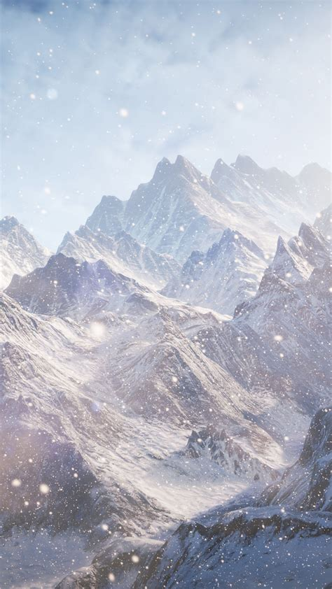 wallpaper    wallpaper  mountains snow