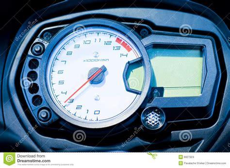 Bike Speedometer Stock Photo. Image Of Motorcycle, Digital